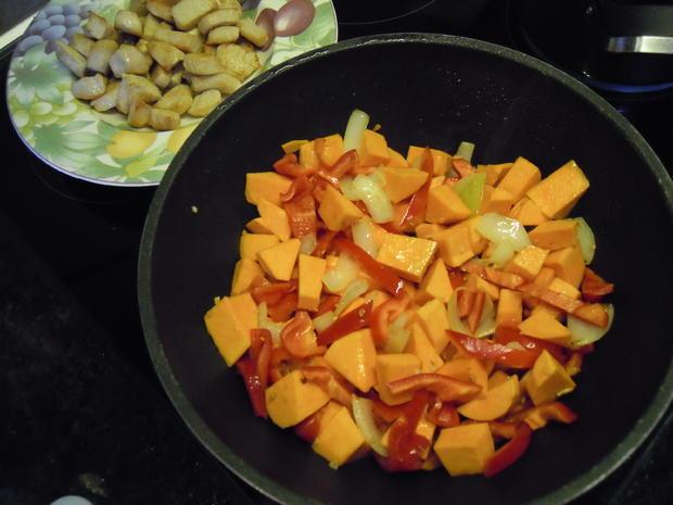 Kokos Curry mit Pute & Süßkartoffeln - Rezept - Bild Nr. 1055