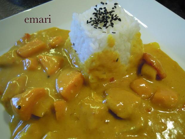 Kokos Curry mit Pute & Süßkartoffeln - Rezept - Bild Nr. 1060