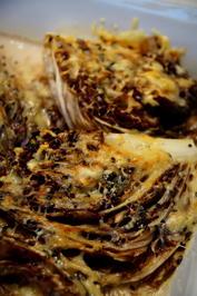 Radicchio mit Parmesan gratiniert - Rezept