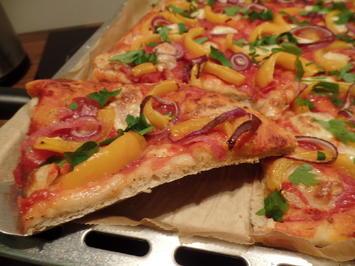 Salami Schwangerschaft Pizza