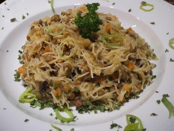 Pasta: Capelli d´ Angeli con Lenticchie - Rezept - Bild Nr. 1036