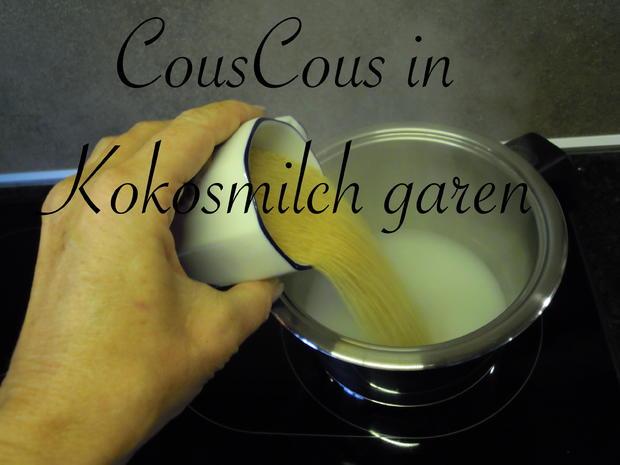 süßes CousCous mit karamelisierten Äpfeln - Rezept - Bild Nr. 1052