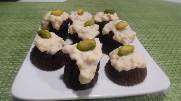 Mini-Brownie's mit Zimt-Schoko-Crisp-Decke - Rezept - Bild Nr. 1068