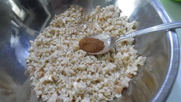 Mini-Brownie's mit Zimt-Schoko-Crisp-Decke - Rezept - Bild Nr. 1076