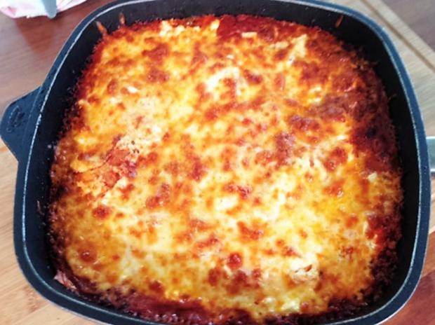 Lasagne aus der Pfanne - Rezept - Bild Nr. 1068