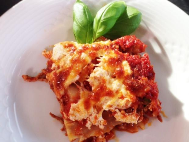 Lasagne aus der Pfanne - Rezept