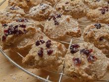 Plätzchen: Löffelkekese mit Cranberrys - Rezept - Bild Nr. 1143