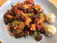 Süßkartoffel Salat mit Granatapfel - Rezept - Bild Nr. 1104