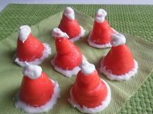 """""""Santa Claus-Mützen"""" - Rezept - Bild Nr. 1154"""