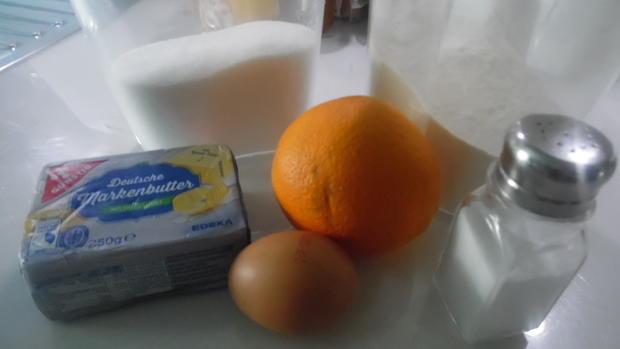 Marzipan-Orangen-Plätzchen - Rezept - Bild Nr. 1175