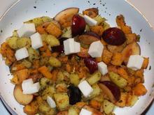 Bratkartoffeln mit Pflaumen und Ziegenkäse - Rezept - Bild Nr. 1201
