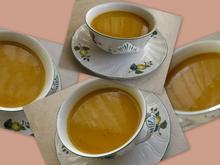 Kürbiscremesuppe mit Maronen - Rezept - Bild Nr. 1195