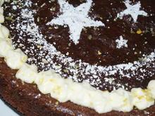 glutenfreier Schokoladenkuchen zu Weihnachten - Rezept - Bild Nr. 1206