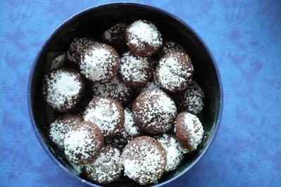 Rezept: Schnelle  Nutella  Plätzchen