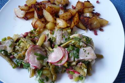 Rezept: Matjes - Bohnen - Salat
