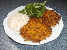 Kürbis-Kartoffelpuffer - Rezept - Bild Nr. 1208