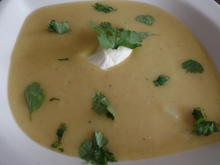 Topinambur-Kartoffel-Curry -Suppe - Rezept - Bild Nr. 1208