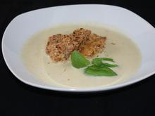 schnelle Gemüsesuppe mit paniertem Blumenkohl - Rezept - Bild Nr. 1225