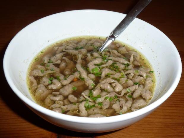 Leberspätzle-Suppe - Rezept - Bild Nr. 1218