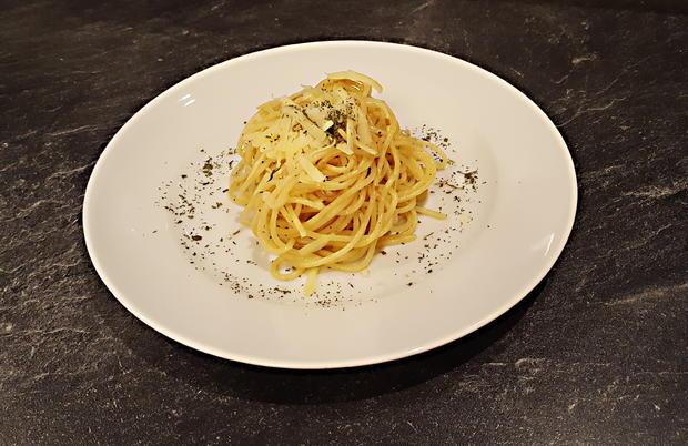 Knoblauchspaghetti Homemade - Rezept - Bild Nr. 1215