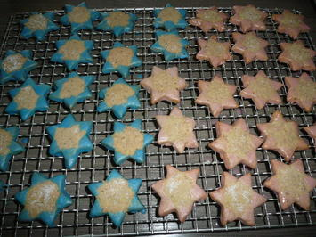 Rezept: Walnuss - Zimt Sterne