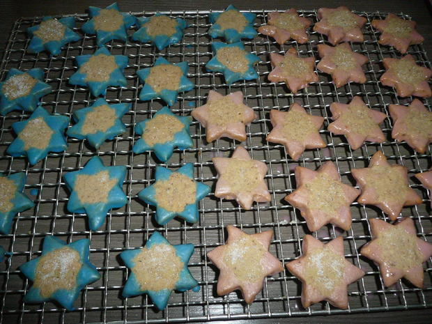 Walnuss - Zimt Sterne - Rezept - Bild Nr. 1222