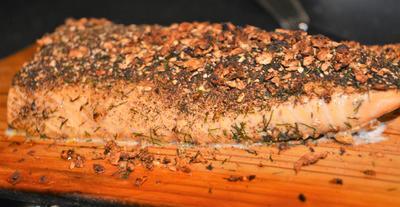 Lachs vom Grill - Rezept