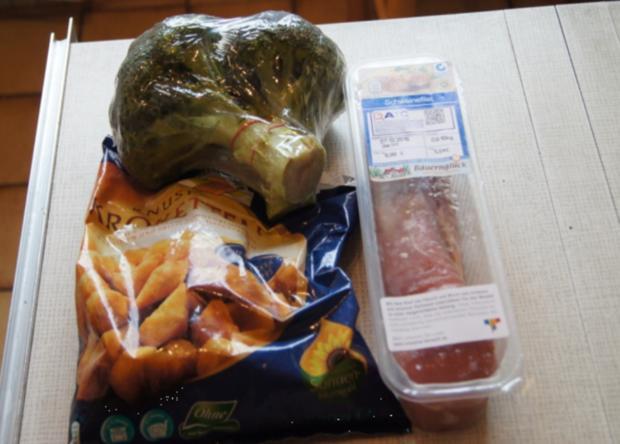 Würziges Schweinefilet mit pikanter Sauce, Brokkoli und knusper Kroketten - Rezept - Bild Nr. 1328