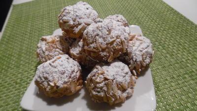Apfel-Mandel-Bällchen - Rezept