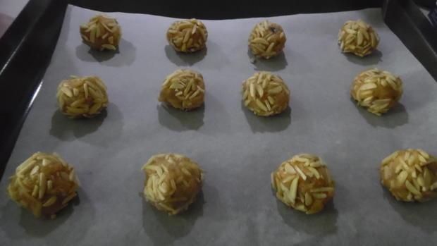 Apfel-Mandel-Bällchen - Rezept - Bild Nr. 4