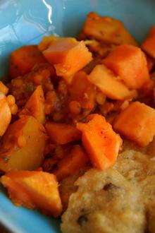 Vegetarisches Spitzkohl-Gemüse-Curry - Rezept
