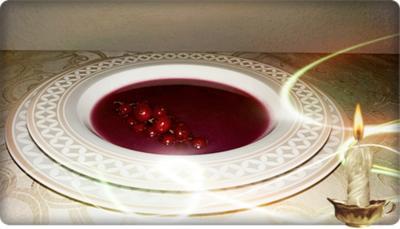 Herbstliche Rotkohl Cremesuppe mit Johannisbeeren - Rezept - Bild Nr. 1331