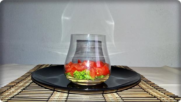 Schichtsalat im Glas zum Frühstück oder für  zwischendurch - Rezept - Bild Nr. 1335
