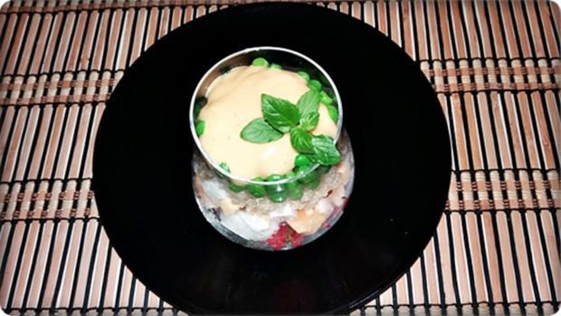 Schichtsalat im Glas zum Frühstück oder für  zwischendurch - Rezept - Bild Nr. 1343