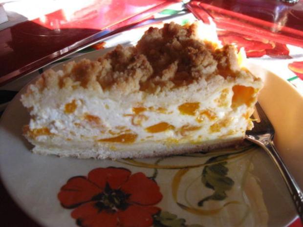 Streuselkuchen Mit Mandarinen Und Schmand Rezept Kochbar De