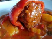 Gefüllte Paprika asiatisch angehaucht à la Biggi - Rezept - Bild Nr. 1337