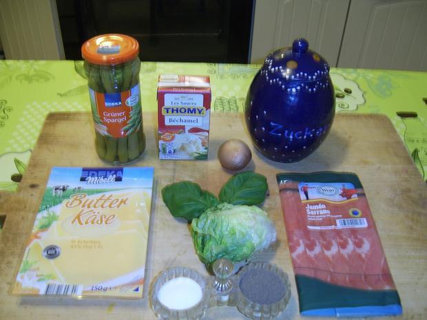 Schinken-Spargel-Brot - Rezept - Bild Nr. 1339