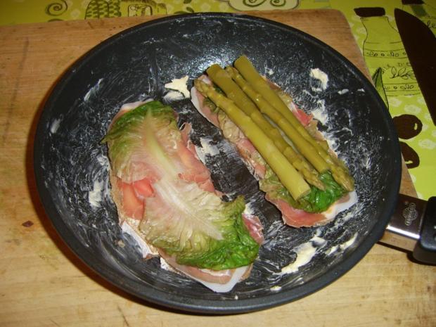 Schinken-Spargel-Brot - Rezept - Bild Nr. 1343