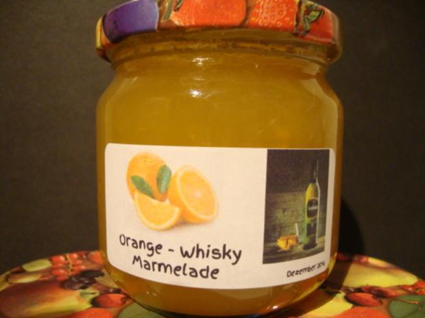 Orangenmarmelade mit Whisky - Rezept - Bild Nr. 1344