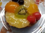 Weihnachtliches Obsttörtchen gabs heute zum 2. Advent - Rezept - Bild Nr. 1339