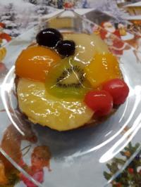 Oma Löffel`s Torten = weihnachtliches Obsttörtchen gabs heute zum 2. Advent - Rezept - Bild Nr. 1339