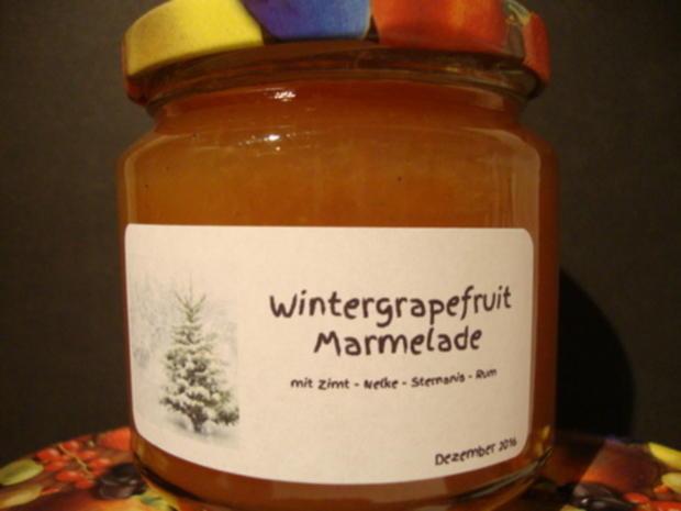 Wintergrapefruit Marmelade - Rezept - Bild Nr. 1340