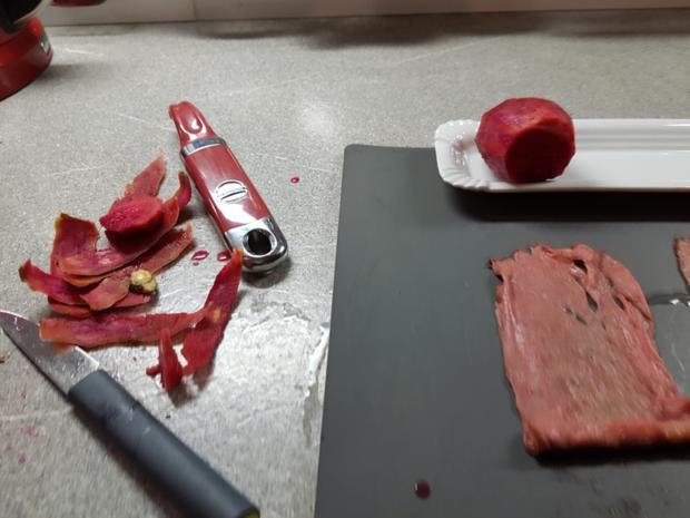Fleisch / Rind = Roastbeefröllchen à la Biggi  - Rezept - Bild Nr. 1369