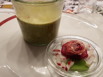 Radieschen Blätter Suppe (heute als Vorspeise) - Rezept - Bild Nr. 1376