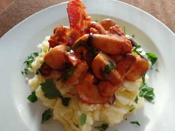 Kartoffelstampf  mit Pilzsauce - Rezept - Bild Nr. 1365