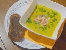 Kürbis Suppe mit Meeresfrüchte - Rezept - Bild Nr. 1383