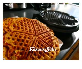 Rezept: BiNe` S KÄSEWAFFELN