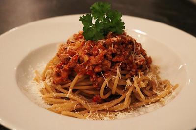 Spaghetti Bolognese mit Vollkornnudeln - Rezept - Bild Nr. 1407