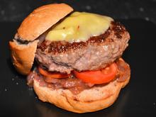 Wennesdraussenregnetinderpfannemachburger - Rezept
