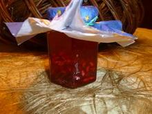 Fruchtiges Sektgelee mit Granatapfel - Rezept